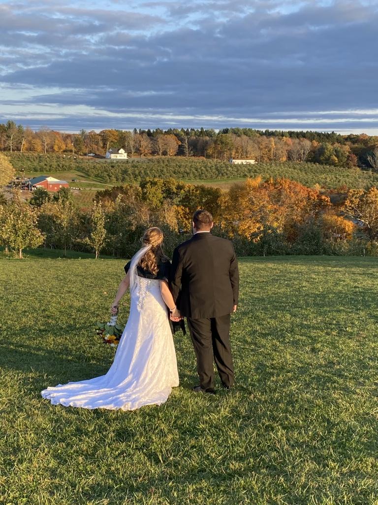 Fall Wedding at March Farm, CT